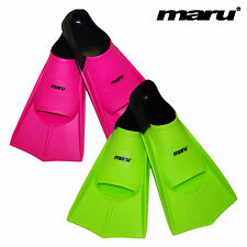 Maru training fins - Swimming - Flippers - Swim - Variety of Sizes - 2 Colours