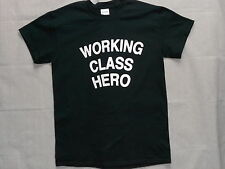 Retro Vintage Working Class Hero T-Shirt!Cheap Shipping! Lennon Made Famous 055D