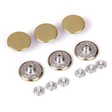 6 Set Metal Snap Buttons 20mm for Jean Pants Replacement Waist Extender 7 Colors