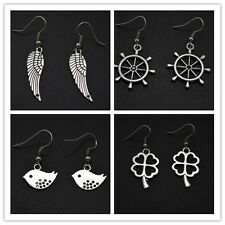 2015 New Fashion Lovely Rudder, Four Leaves Clover ,Bird ,Wing Women's Earrings