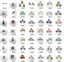 10pcs mixed Floating Charms locket charms for floating memory locket FC434-FC482