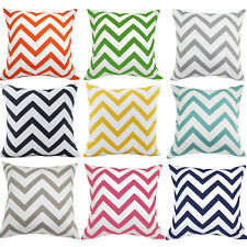 Colorful Wavy Stripes Home Decorative Cushion Cover Throw Pillow Case 40x40cm