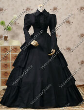 Gothic Victorian Period Dress Reenactment Clothing Theatre Quality Steampunk 007