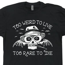 Hunter S Thompson T SHIRT Fear and Loathing in Las Vegas Gonzo Vintage Soft Tee