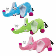 """ANY COLOR - WACKYDERM - DOG PLUSH SQUEAK TOY - 11"""""""
