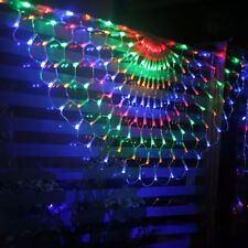 Waterproof 476 LED String Lights Colorful Net Christmas Party Wedding Decoration