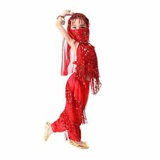 KID's Professional set Belly Dance Costumes Party Halloween Costumes for Girl
