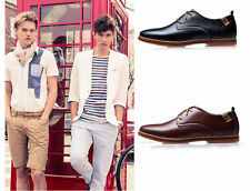 2015 Mens Fashion Casual/Dress Formal Oxfords Flats Shoes England Lace Up Shoes
