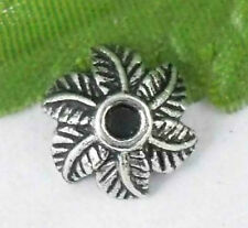 Wholesale40/86Pcs Tibetan Silver(Lead-Free)  Bead Caps  10x5mm
