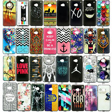 New Design Patterned Hard PC Back Case Cover For HTC Nokia Various Models