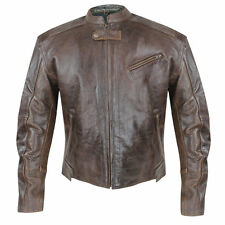 Xelement Men's Sentinel Armored Leather Motorcycle Jacket with Gun Pocket