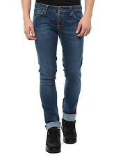 NEU NUDIE HOSE HERREN JEANS 111768 TIGHT LONG JOHN INDIGO BLAU SUPER TIGHT FIT