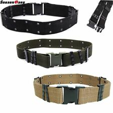 3 Color 2.25'' Military Tactical Army Outdoor Nylon Cambat Heavy Duty Web Belt