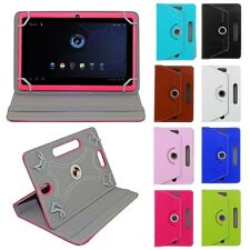 "Universal 360 Rotating PU Leather Case Cover Stand For 7"" 8"" 9"" 10"" 10.1"" Tablet"