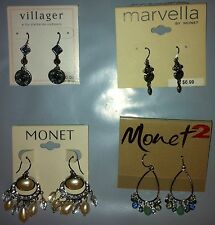 Mixed Set 3 Pierced Earrings 4 pairs of pierced Earrings hook Mixed makers