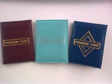 Travel Wallet / Pension Card - ID Bus Pass Card Holder/Wallet  Faux Leather. New