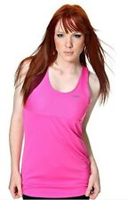 Reebok Zigtech Flash Tank Women's Singlet Running Vest Top Dynamic Pink New NWT