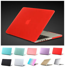 Smart Rubberized Hardshell Hard Case For Macbook Mac Pro Air Retina 11 12 13 15