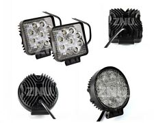 Hot 24W 8/9LED FLOOD/SPOT Work Light Bar Offroad Driving Lamp SUV Car Boat 4x4WD
