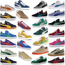 Puma Suede Classic+ Eco Mens Womens Adult Unisex Trainers 352634