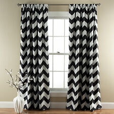 Special Edition by Lush Decor Chevron Blackout Curtain Panel Set of 2
