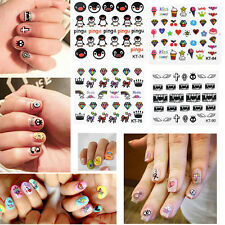 3D Mixed DIY Design Decal Stickers Nail Art Acrylic Manicure Tips Decoration
