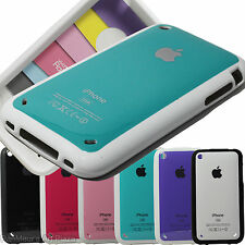 Apple iphone 3G 3GS Jelly+Plastic Case Cover (Rainbow)