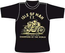ISLE OF MAN TT RACES MANX GP SHIRT