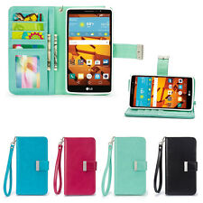 IZENGATE Executive ID Wallet PU Leather Flip Case Cover Folio for LG G Stylo