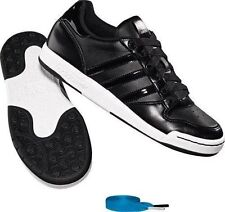 Adidas Originals Midiru Court Womens Black Leather Trainers Fashion Sneakers