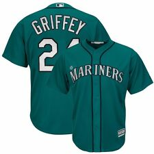 2015 Ken Griffey Jr Seattle Mariners Alternate Teal Green Cool Base Jersey Men's