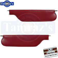 1967-1969 Camaro Firebird Sunvisors Convertible - Pair PUI New
