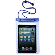 Waterproof Dry Bag Underwater Pouch Case Cover W/ Stripe For 7'' inch Tablet PC