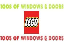 LEGO CITY & VINTAGE WINDOWS & DOORS 100s OF DIFFERENT SETS TO CHOOSE FROM