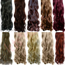 Salon finest- Clip in Hair extension Curl/Curly/Wavy/Long one piece 5 clip MU104
