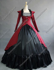 Victorian Dress 3-PC Ball Gown Theatre Quality Halloween Costume Steampunk 167
