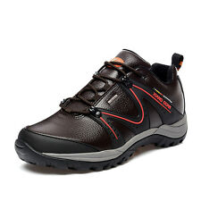 New Mens Outdoor Sport Leather Sneakers Waterproof Lace-up Rubber Casual Shoes