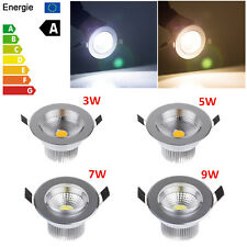 HOI 3W 5W 7W 9W COB Dimmable Led Down light Bulb Recessed Ceiling Lamp Spotlight