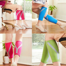 Calf Colors Compression New Leg Brace Breathable Support Shin Wrap Sleeves