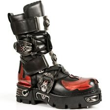 NEWROCK New Rock Boots Style M.195 S1 Red Unisex Reactor
