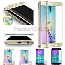 9H Full Cover Tempered glass Screen Protector for Samsung Galaxy S6 Edge Curved