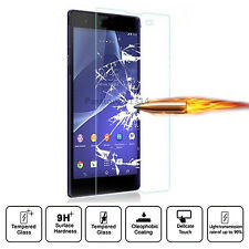 9H Tempered Glass Screen Protector Flim For Sony Xperia Z1 Z2 Z3 Z4 E3 E4 T3