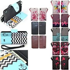 Huawei Pronto LTE H891L SnapTo G620 Hybrid Leather Wallet Pouch Case Flip Cover