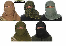Proforce Military Equipment Camcon Camouflage Sniper  Face Veil  100% Cotton