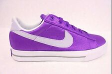 408182 502 New Womens Nike Sweet Classic Textile Shoes Purple Sizes 7 & 11 NWB