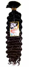 "2 Pack Deal- Human Hair Blend Braid  - Bally Deep Bulk 18""(Braid Hair)"