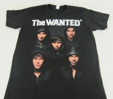 New Mens Black The Wanted USA Summer 2012 Tour T-Shirt Music Tee Size S M XL