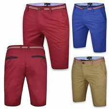 MENS NEW CASUAL CHINO CARGO SUMMER SHORTS COMBAT COTTON WORK HALF PANT DESIGNER