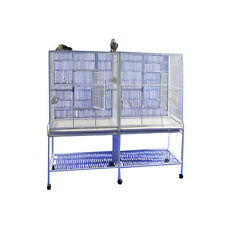 A&E Cage Co. Double Flight Bird Cage with Divider