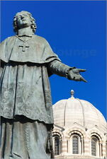 Poster / Leinwandbild De Belsunce statue at the Cathedral of M... - N. Tondini